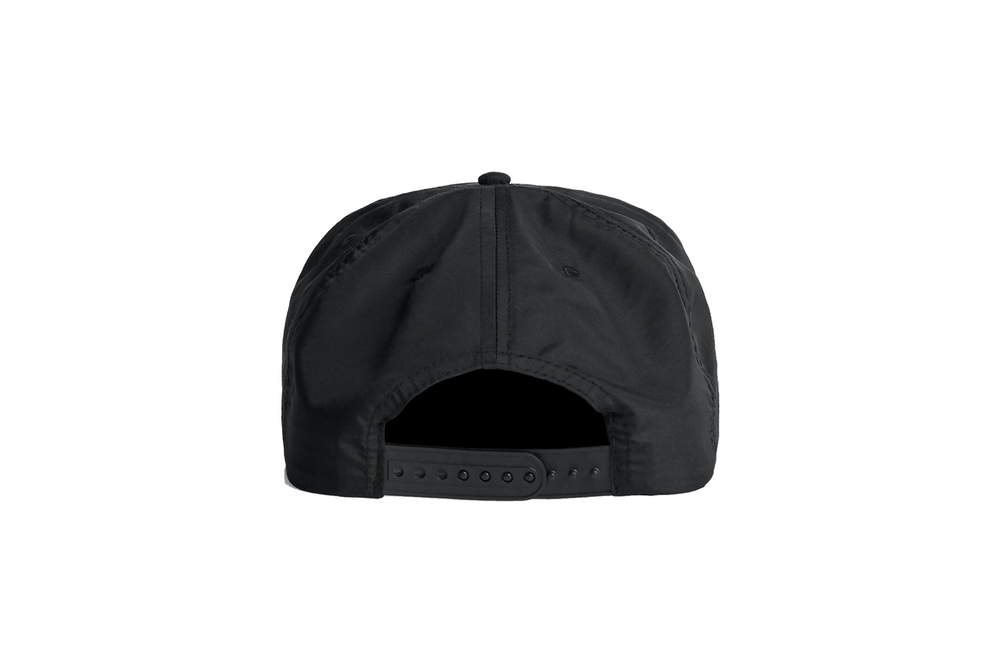 Load image into Gallery viewer, THE SOMEWHERE NOWHERE NYLON CAP (BLACK)