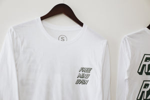 Load image into Gallery viewer, THE STANDARD ISSUE LONGSLEEVE (WHITE)