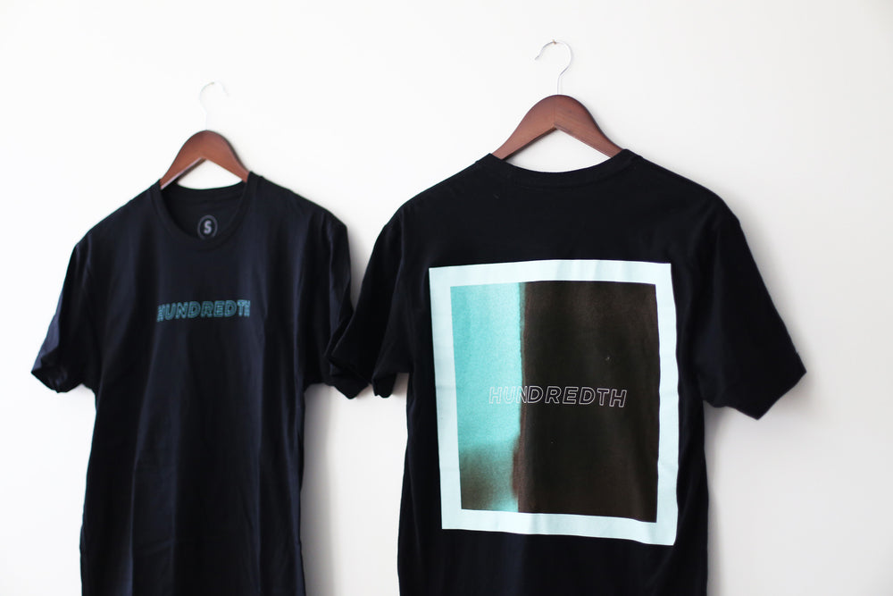 Load image into Gallery viewer, THE LIGHT LEAK TEE (BLACK)