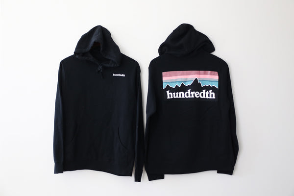 THE MOUNTAIN HOODIE (BLACK)
