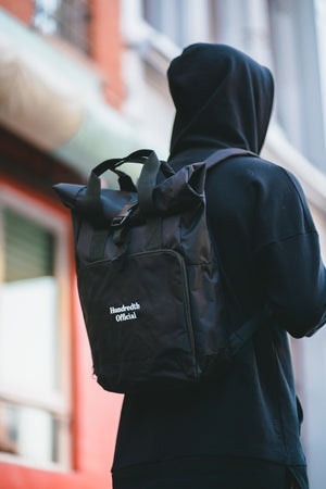 Load image into Gallery viewer, THE COMMUTER BAG (BLACK)