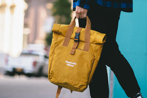 Load image into Gallery viewer, THE COMMUTER BAG (MUSTARD)