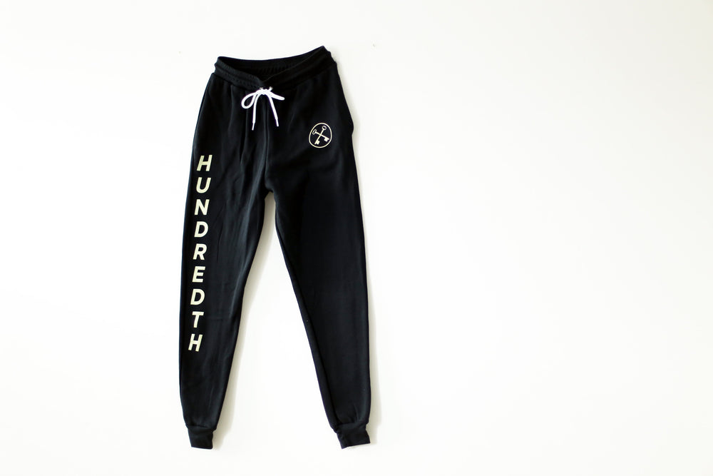 Load image into Gallery viewer, THE FLEECE JOGGERS (BLACK)