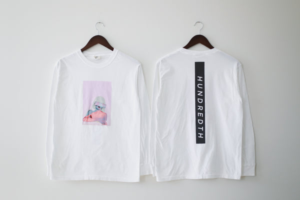 THE RARE TOUR REFLECTIVE LONGSLEEVE (WHITE)