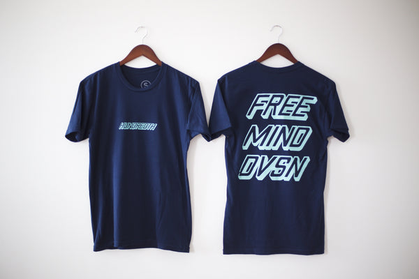 THE RETRO TEE (NAVY)