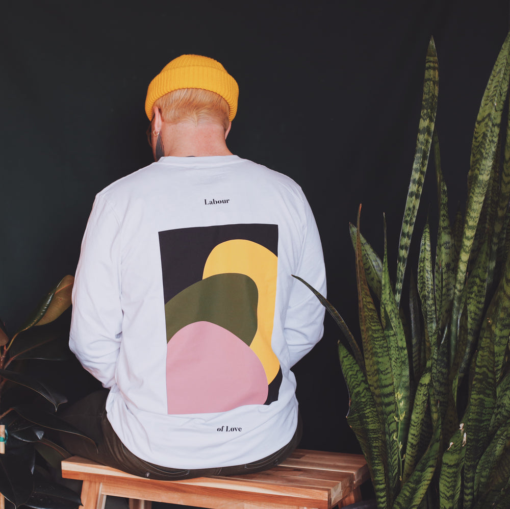 Load image into Gallery viewer, THE LABOUR OF LOVE LONGSLEEVE (WHITE)