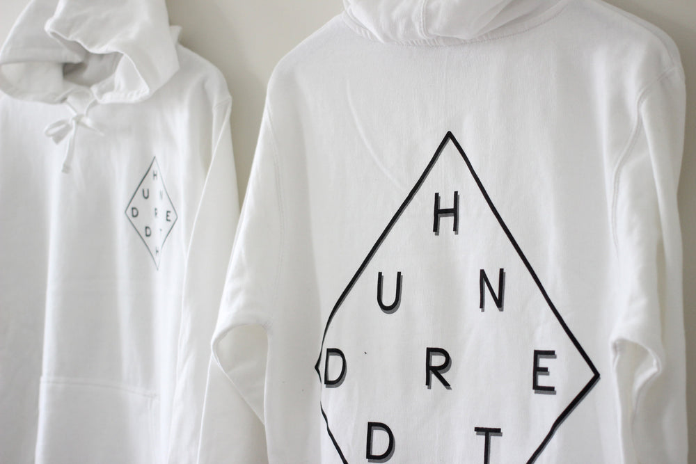 Load image into Gallery viewer, THE WHITE DIAMOND HOODIE