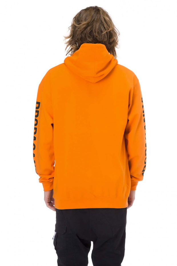 Hoodie Orange Snake Classic - Propaganda Clothing
