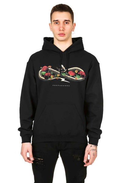 Rose E Bullets Hoodie - Propaganda Clothing