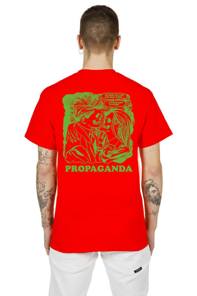 T-Shirt Red Eros And Tanathos - Propaganda Clothing