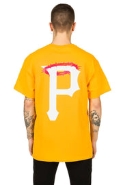 T-Shirt Yellow P Rates - Propaganda Clothing