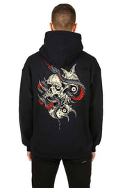 Skateful Black Hoodie - Propaganda Clothing