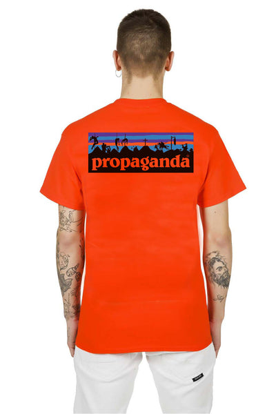 T-Shirt Orange Battlefield - Propaganda Clothing