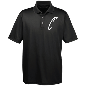 (Un)disc2overed Sig C2 Logo Men's Snap Placket Performance Polo