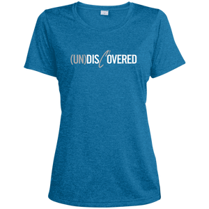 (Un)Disc2overed Sig Logo  Ladies' Heather Dri-Fit Moisture-Wicking T-Shirt