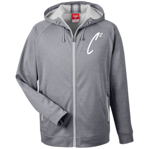 (Un)disc2overed Sig C2 Logo Men's Heathered Performance Hooded Jacket