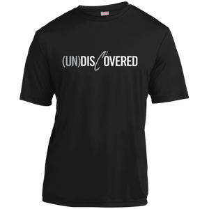 (UN)Disc2overed sig Logo Youth Moisture-Wicking T-Shirt
