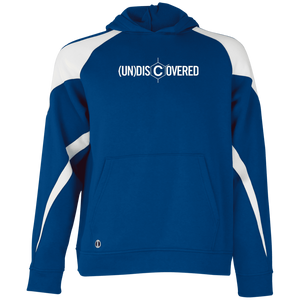 undiscovered logo Youth Colorblock Hoodie