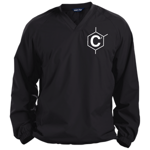 (Un)Disc2overed Hexa C2 Logo Pullover V-Neck Windshirt