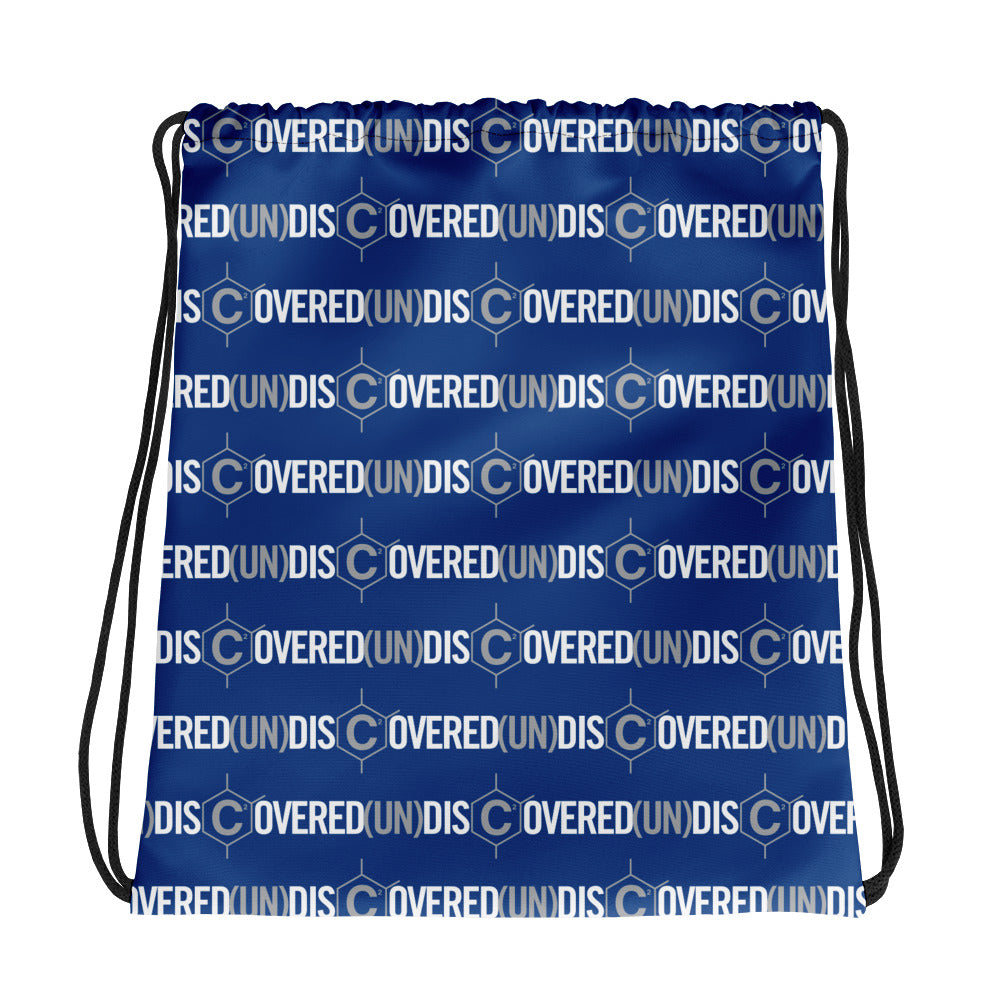 D(un)disc2overed drawstring bag