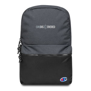 (un)disc2overed Embroidered Champion Backpack