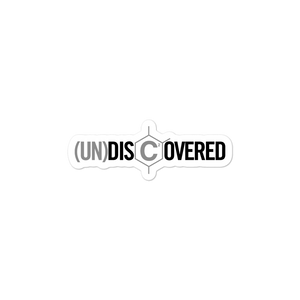 (un)disc2overed Bubble-free stickers