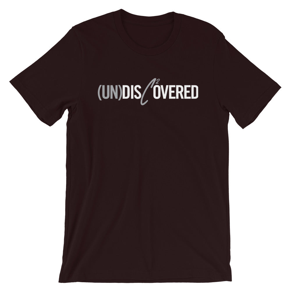 (Un)Disc2overed Sig Logo Short-Sleeve Unisex T-Shirt