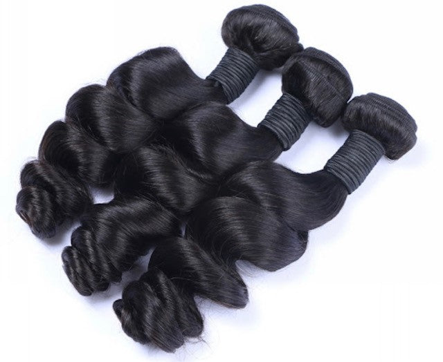 Luxurious Brazilian Loose Wave Hair Bundles