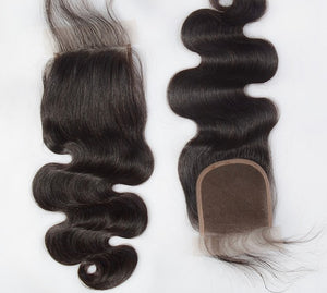 Luxurious Brazilian 4*4 Lace Closures