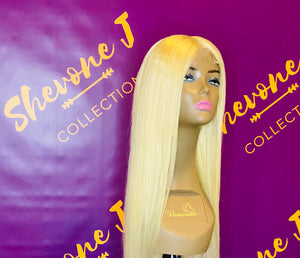 Yellow Diamond Wig Unit (Customized)