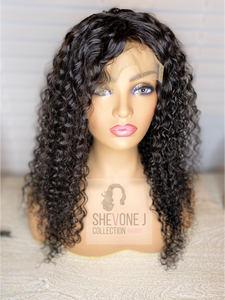 Crystal Wig Unit - Malaysian Curly (Customized)