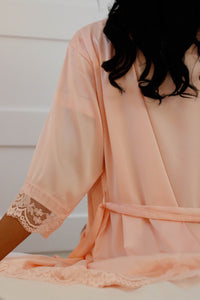 Powder Pink Robe
