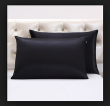 Load image into Gallery viewer, 100% Silk Pillowcase - BLACK