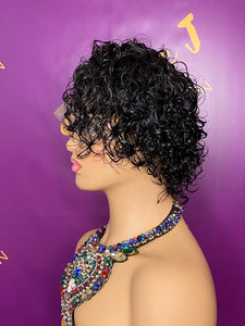 "Curly ""Pool Ready"" Wig Unit"