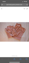 Load image into Gallery viewer, Rose Gold Pajama Pants Set