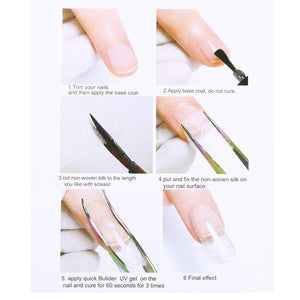 Nail Extension Silk Fiberglass
