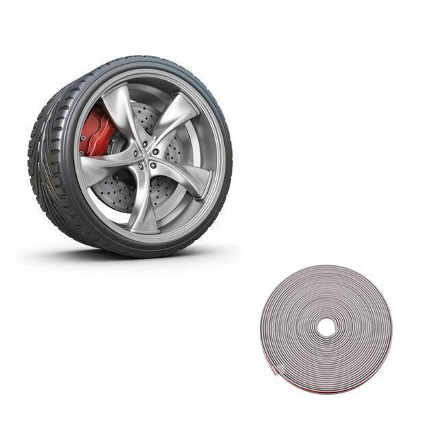 Pro Wheel Rim Protector ( 8m ) [Note: A roll can wrap four wheels]