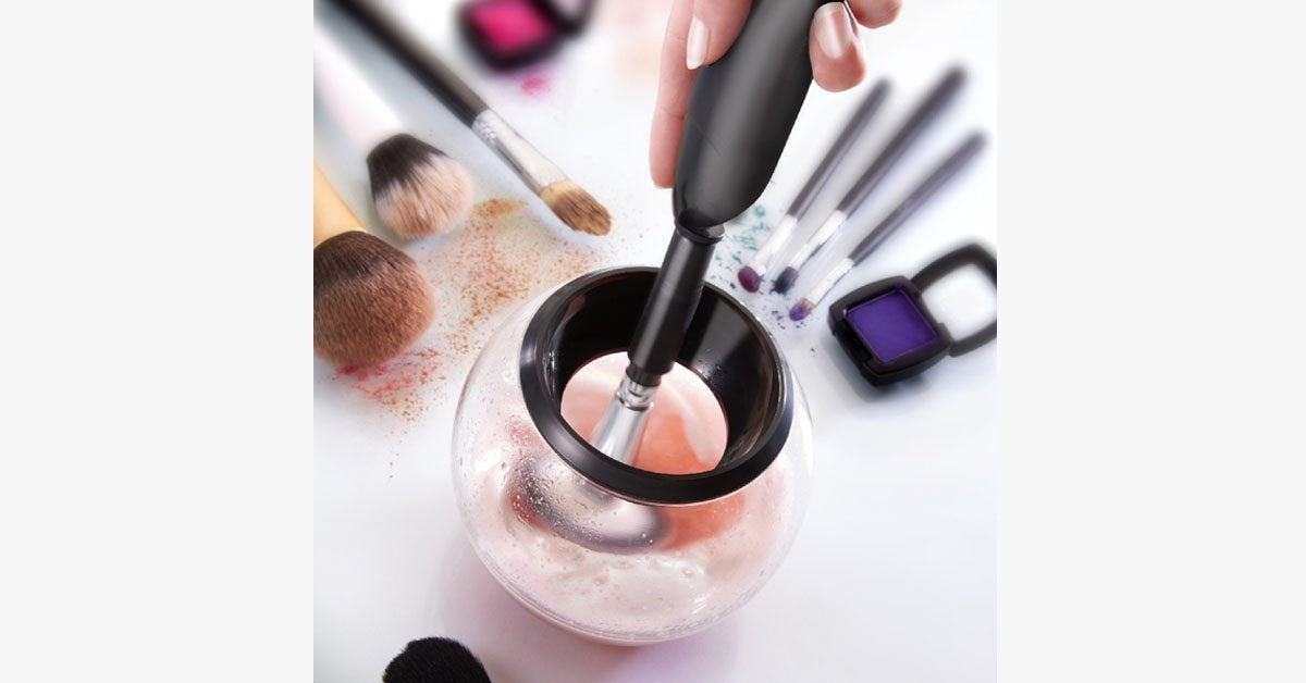 Amazing Makeup Brush Cleaner and Dryer – Keeps Your Makeup Brushes Clean To Prevent Infections