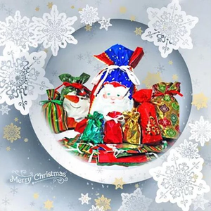 Drawstring Christmas Gift Bags 15 Sets