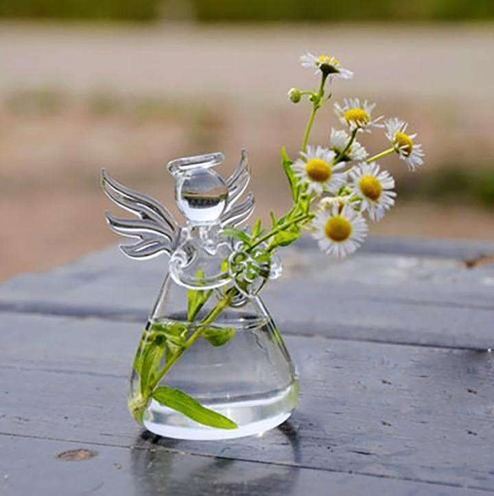"""Guardian Angel"" - Flower Vase"