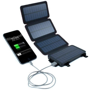 Solar Powered Battery Bank - Wireless Charger