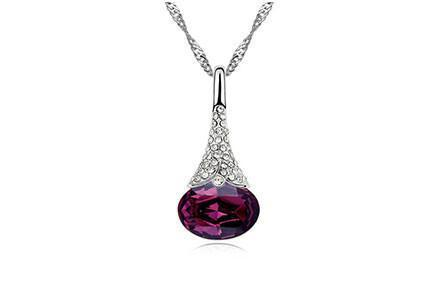 Crystal Water Drop Pendant - Florence Scovel - 7