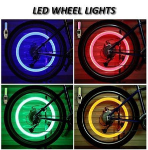 Waterproof Led Wheel Lights(2 PCS)
