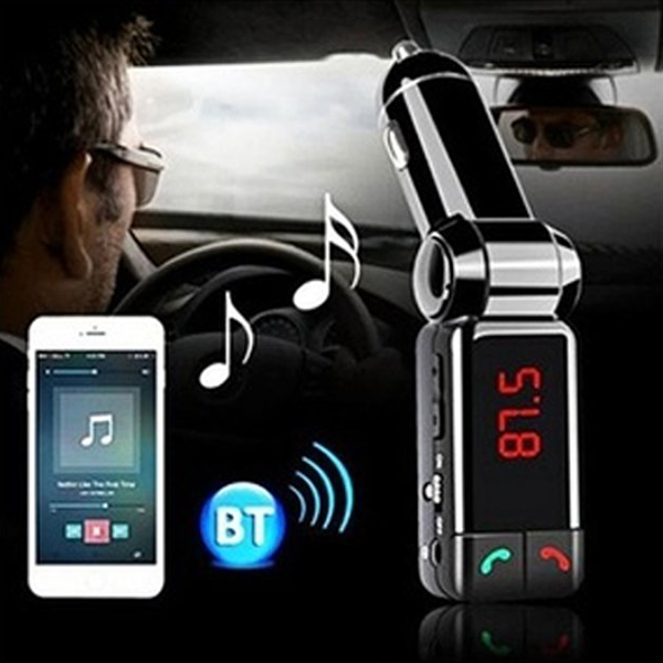 Bluetooth Car Adaptor-used for Hands-free calls, listen to music and receive audible directions