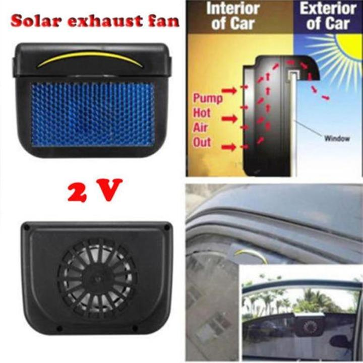 Solar Power Auto Cooling Fan