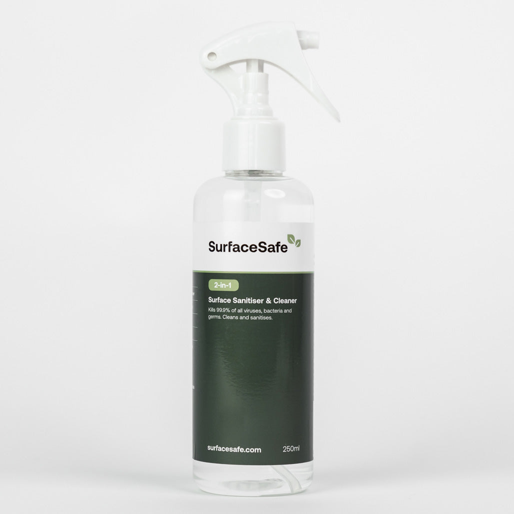 SurfaceSafe | Surface Sanitiser & Cleaner 250ml