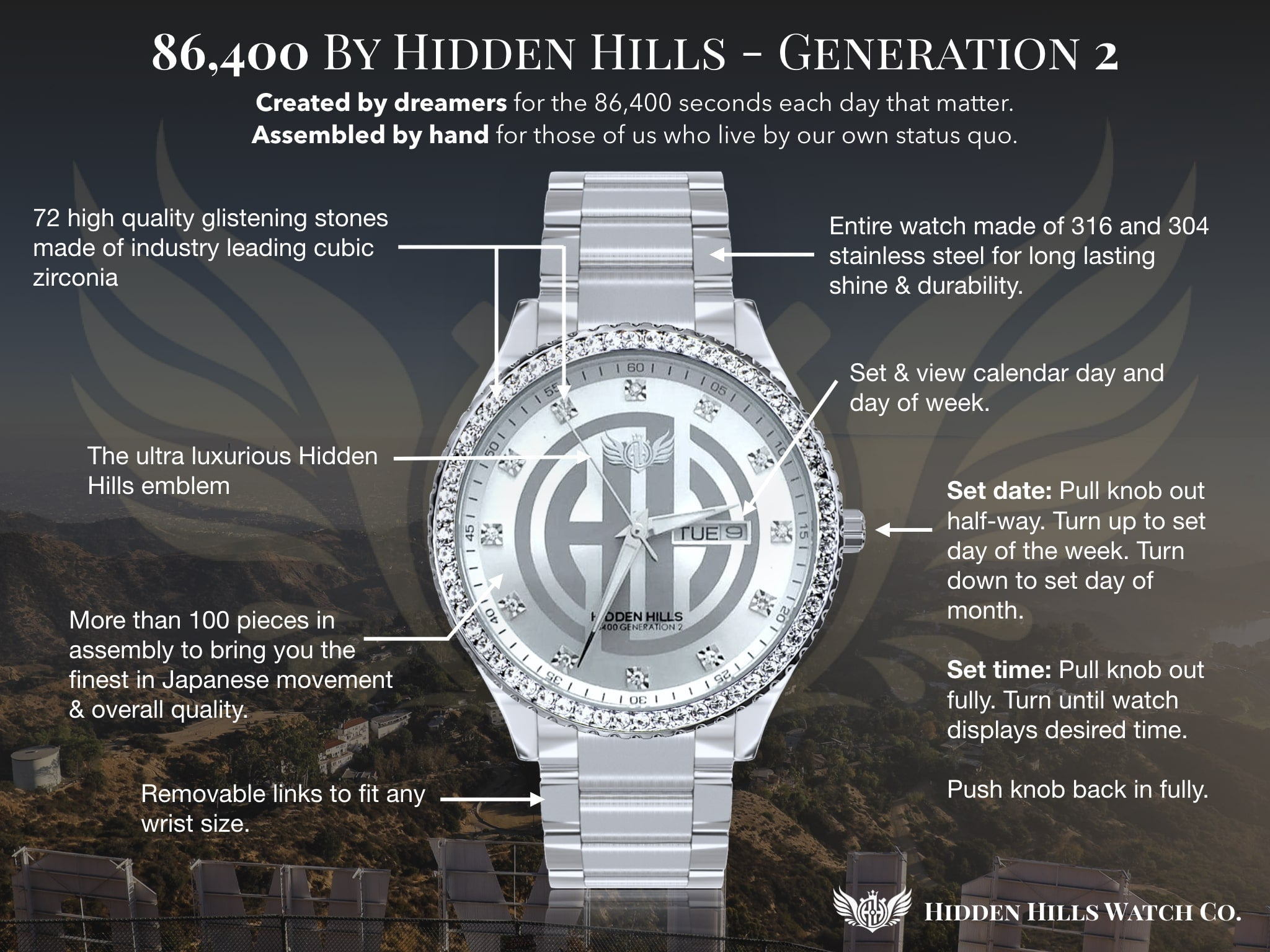 Hidden Hills Watch Manual