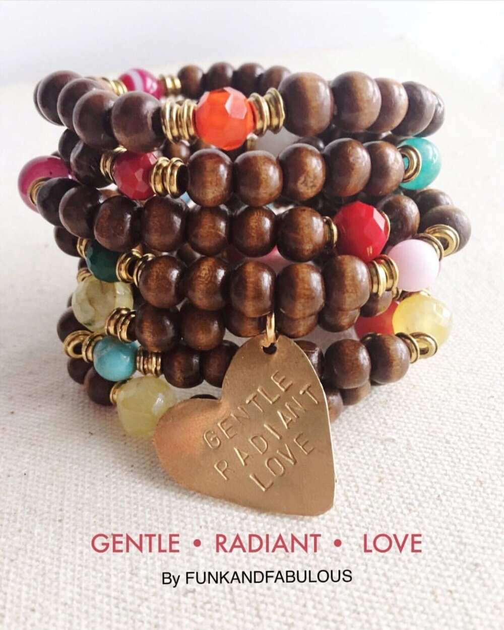 GENTLE LOVE STACK * Personalized