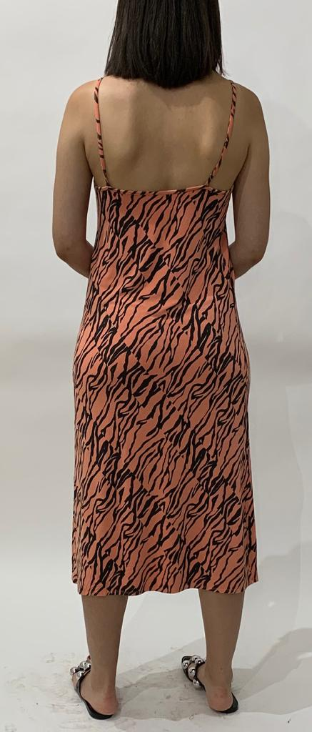 Abigail Animal Slip Dress