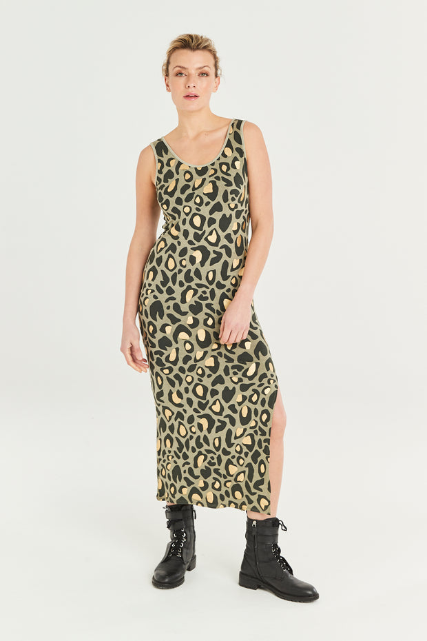 Gabriella Animal Print Dress